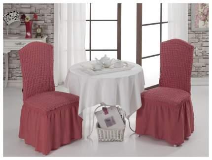 Чехол для стула Karna Bet Грязно-Розовый