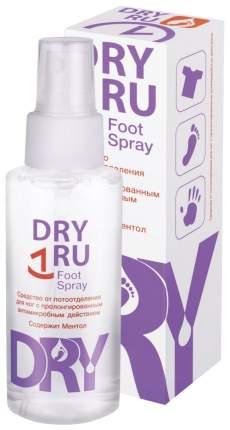 Дезодорант-антиперспирант DRY RU Foot Spray