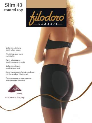 Колготки Filodoro Classic SLIM 40 CONTROL TOP/Playa/4 (L)