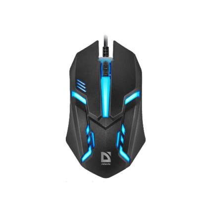 Проводная мышка Defender Hit MB-550 Black (52550)