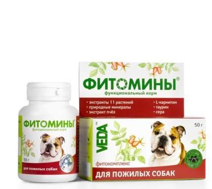 Витаминный комплекс для пожилых собак VEDA Фитомины, 100 таб