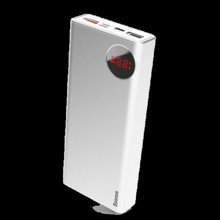 Внешний аккумулятор Baseus Mulight QC3,0 + PD3,0