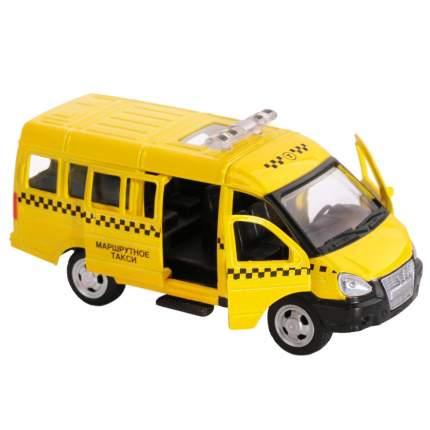 АВТОПАНОРАМА Машинка металлическая Маршрутное такси 1200069