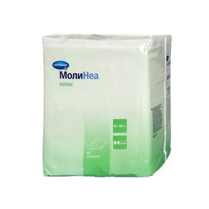 Впитывающие пеленки MoliNea plus 90 х 180 см 20 шт.