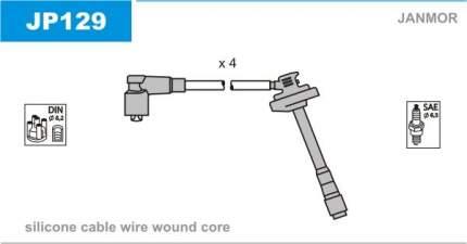 Комплект проводов зажигания JANMOR JP129