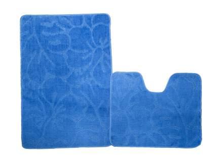 Набор ковриков для ванной ЭКО синий, SHAHINTEX 7320-3