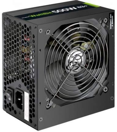 Блок питания компьютера  Zalman ZM500-XE WattBit 500W 83+ ATX12V V2,3  500Вт