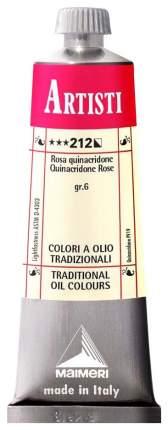 Масляная краска Maimeri Artisti квинакридон розовый 40 мл