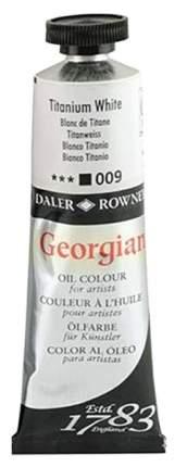 Масляная краска Daler Rowney Georgian белила титановые 75 мл