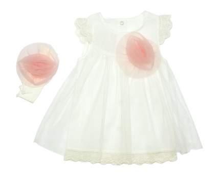 Комплект одежды для девочек Осьминожка 85-18332-20/62 белый р.62