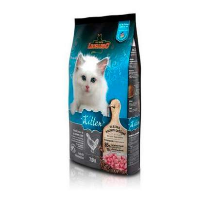 Сухой корм для котят, беременных и кормящих кошек Leonardo Kitten, курица, 7,5кг
