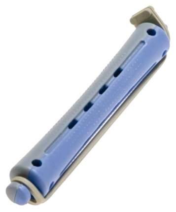 Бигуди для волос Sibel серо-синие короткие 60 мм 12 шт