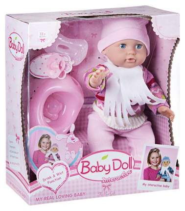 Пупс Baby Doll с аксессуарами (пьет, писает) YL1704B