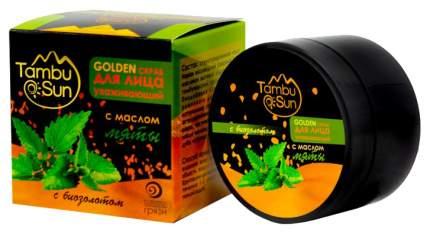 Скраб для лица Tambusun GOLDEN с эфирным маслом мяты 70 мл
