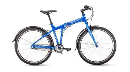 """Велосипед Forward Tracer 26 3.0 2019 17"""" синий"""