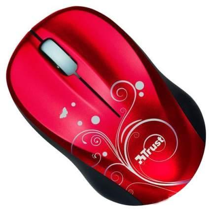 Беспроводная мышка Trust Vivy Mini Mouse Red (17355)