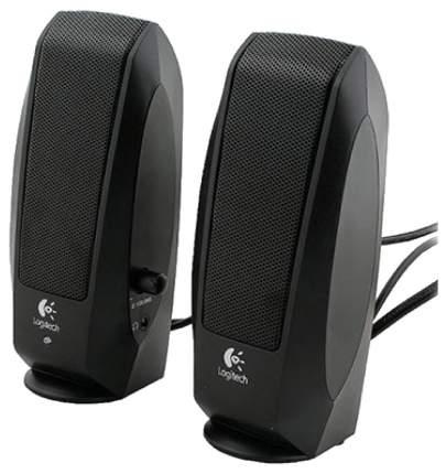 Колонки компьютерные Logitech S120 Черный