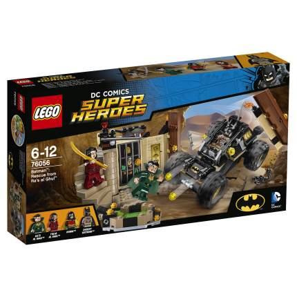 Конструктор LEGO DC Comics Super Heroes Бэтмен: спасение от Рас аль Гуля (76056)