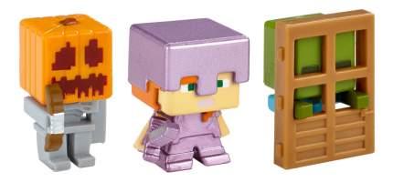 Игровой набор Minecraft Набор из 3х фигурок персонажей minecraft CGX24 DKD58