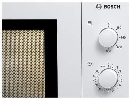 Микроволновая печь соло Bosch HMT72M420R white