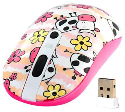 Беспроводная мышь Crown CMM-926W Pink