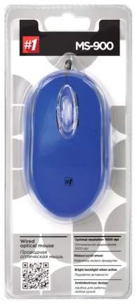 Проводная мышка Defender MS-900 Blue (52902)