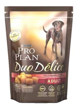 Сухой корм для собак PRO PLAN Duo Delice Adult, лосось и рис, 10кг