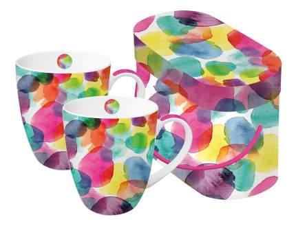 Набор кружек в подарочной упаковке aquarell dots