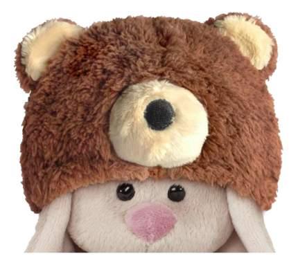 Мягкая игрушка BUDI BASA SidX-180 Зайка Ми в шапке медвежонка (малыш)