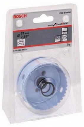Биметаллическая коронка Bosch SHEET-METAL 67 мм 2608584802