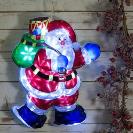 """Панно """"Санта"""" 50 см, уличное, 15 LED ламп 810-00"""