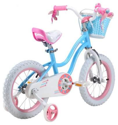 """Детский велосипед Royal Baby Stargirl Steel 14"""" Голубой RB14G-1"""