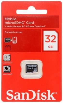 Карта памяти SanDisk Micro SDHC SDSDQM-032G-B35 32GB