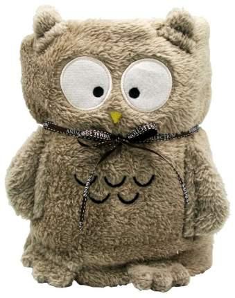 Мягкая игрушка-плед Cool Toys Серая Сова 60 x 90 см