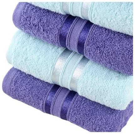 Набор полотенец Dome голубой, фиолетовый
