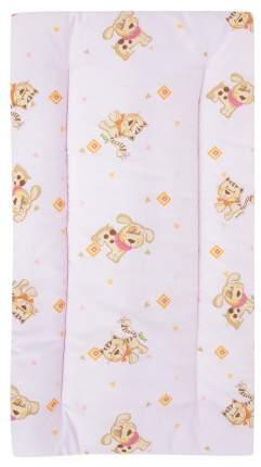 Комплект в коляску Leader Kids «Верные друзья» GL000608891, бязь, Розовый
