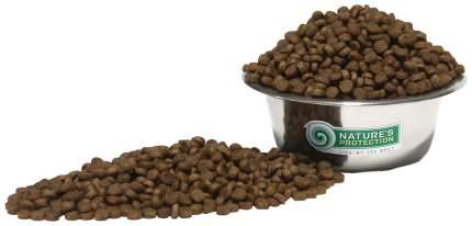 Сухой корм для кошек Nature's Protection SENSITIVE, индейка, 18кг