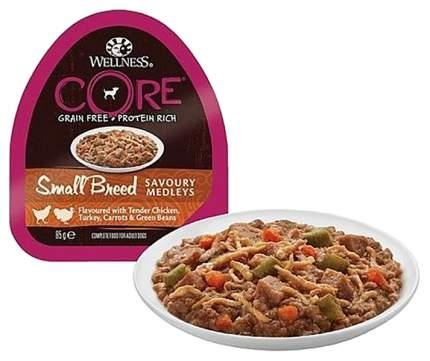 Консервы для собак Wellness CORE, попурри из разных видов мяса, 6шт, 85г