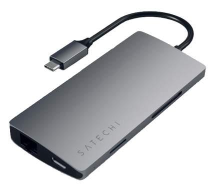 Разветвитель для компьютера Satechi Type-C Multi-Port Adapter with Ethernet v2 ST-TCMA2M