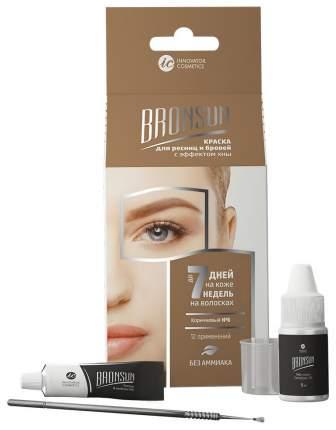 Краска для бровей Innovator Cosmetics BRONSUN Для домашнего окрашивания №6 Коричневый