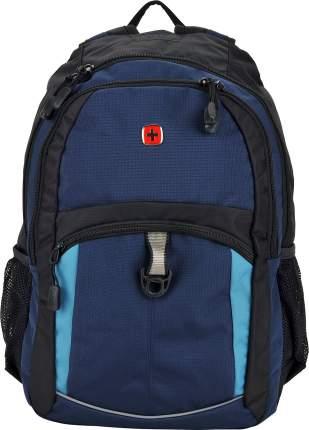Рюкзак Wenger черный/синий 22 л
