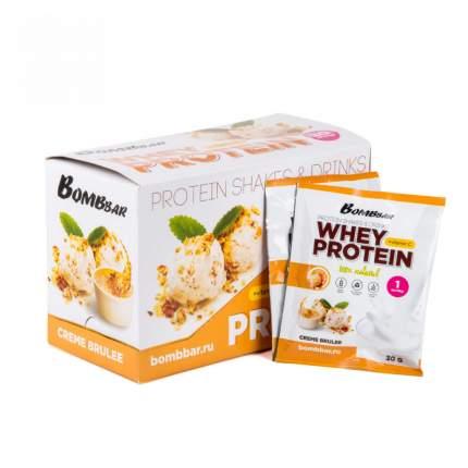 Протеин Bombbar Whey Protein 30 г Crème Brulee
