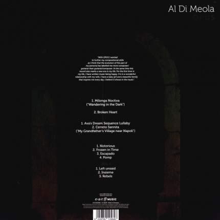 "Виниловая пластинка Al Di Meola ""Opus"" (2LP)"