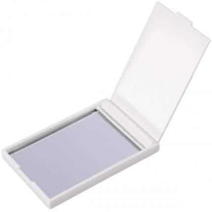 Зеркальце карманное белое