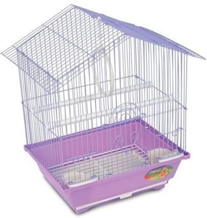 Клетка для птиц Triol 2101, золотая решетка, бронзовый поддон, 30x23x39 см