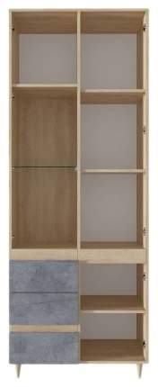 Платяной шкаф СтолЛайн STL_2019033900200 79х41х208,5, дуб небраска