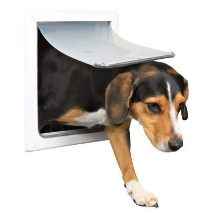 Дверца для животных TRIXIE 2-Way Dog Flap, белая, 20х21см
