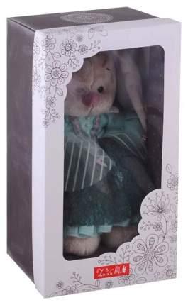 Мягкая игрушка BUDI BASA Зайка Ми барышня в персидском зелёном, 25 см