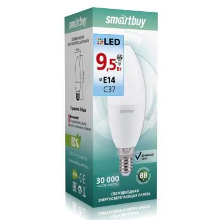 Лампа светодиодная Свеча Smartbuy 9,5W Е14 4000K