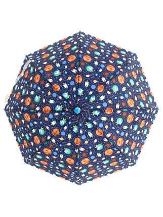 Зонт-трость МихиМихи Космические корабли синий